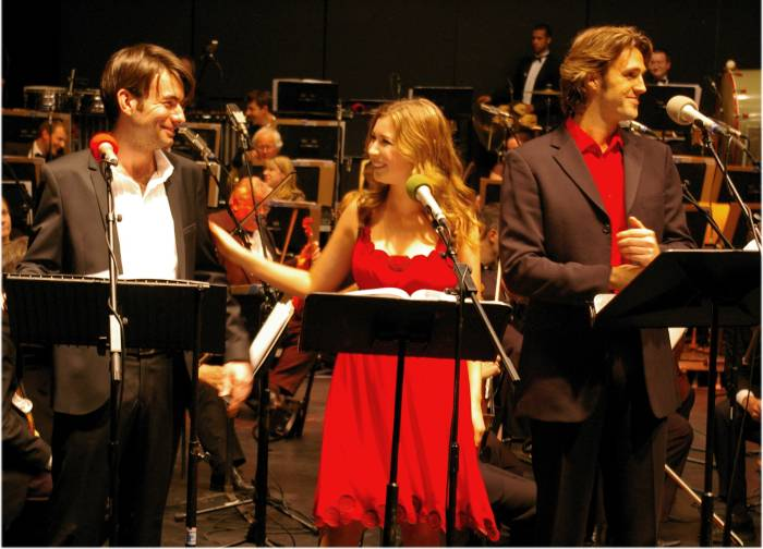 Jon-Paul Hervey, Hayley Westenra, Michael Xavier